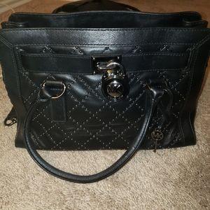 Michael kors Hamilton silver studded purse